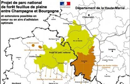 Parc naturel Entre Bourgogne et Champagne : au faîte en 2013 !