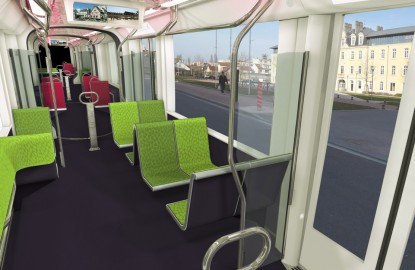 Dijon confie l'énergie de son tramway à Inéo