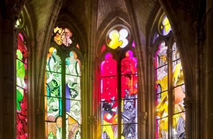 La cathédrale de Nevers retrouve enfin ses vitraux