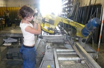 La métallerie Boudier bâtit au féminin
