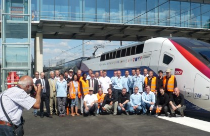 TGV : 100 km en 17 minutes