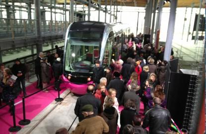 Dijon : le tramway nouveau est arrivé