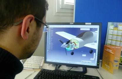 Le Nivernais Danielson propulse son moteur de drone