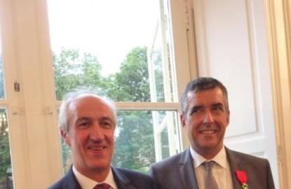 Deux patrons bourguignons mis à l'honneur de la République