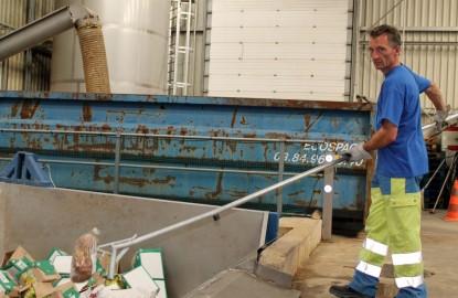 Sita désemballe les déchets alimentaires à Besançon