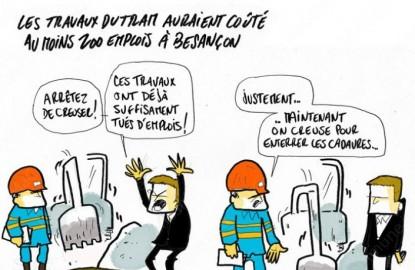 Les mauvais comptes du tramway de Besançon