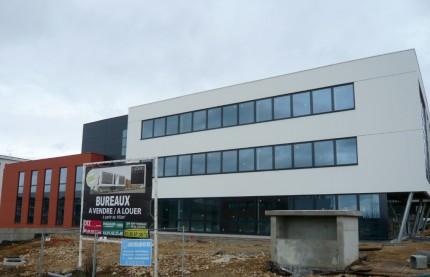 A Besançon, l'immobilier de bureaux est un long fleuve tranquille