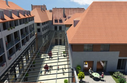 Besançon : un centre commercial au coeur d'hôtels particuliers