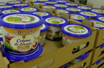 Laiterie de Bresse s'offre la crème de la crème