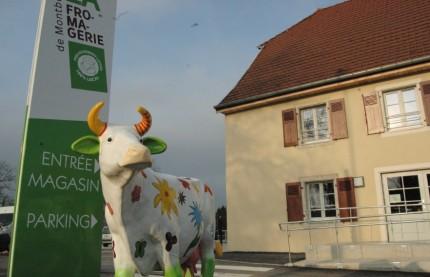 Montbéliard : une coopérative fromagère en ville