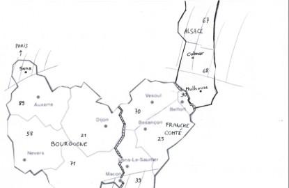 Une méga région Bourgogne, Franche-Comté, Sud Alsace ?