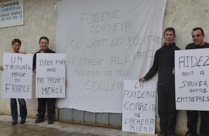 Bourgogne : la fonderie Correia lance un appel aux dons