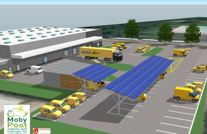 Franche-Comté : le véhicule à hydrogène de MobyPost cherche sa place au soleil