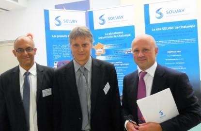 Solvay annonce un investissement de plusieurs centaines de millions d'euros en Alsace