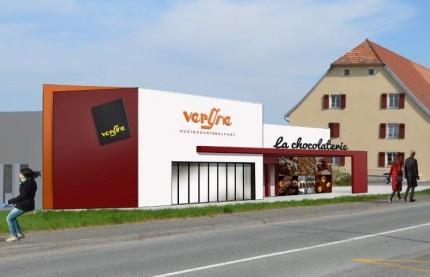 La Chocolaterie sort de terre à Montbéliard