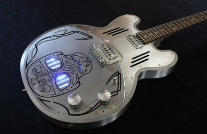 Les guitares en aluminium MeloDuende séduisent la planète rock