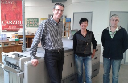 L'imprimerie du Val de Saône renaît dans le giron du Jurassien LIG