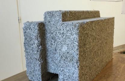 Vieille Matériaux lance un monobloc de chanvre pour un nouveau système constructif