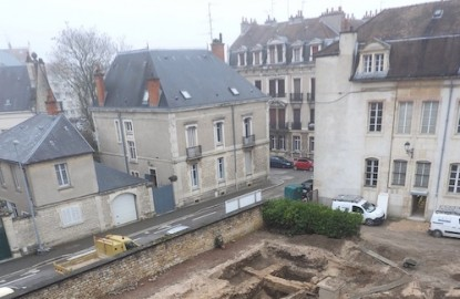 Une fouille au centre de Dijon révèle les premières occupations au-delà du castrum