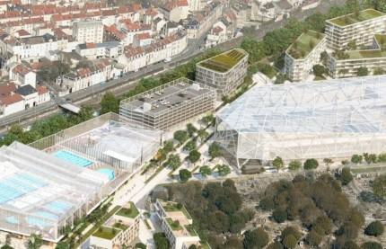 Reims métamorphose son centre-ville avec deux grands équipements