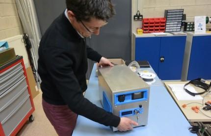 L'Université incube à Belfort une future start-up sur un groupe électrogène hybride à hydrogène