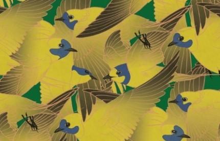 A Besançon, Atelier Virgül fait du papier peint haut de gamme sur le mode artisanal