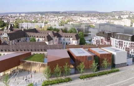La fameuse école de cuisine Ferrandi et un hôtel Hilton à la Cité de la gastronomie et du vin de Dijon