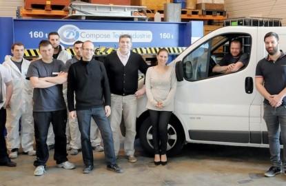 Compose Tech Industrie met en oeuvre les matériaux composites des sous-marins de la Marine française