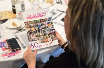 Le magazine de Traces Ecrites News, 60, le best of, édition 2017, présenté au Club Affaires