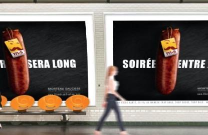 Morteau Saucisse s'invite de nouveau dans le métro parisien