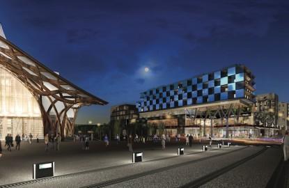 Le quartier de l'Amphithéâtre prolonge le centre-ville de Metz de manière théâtrale