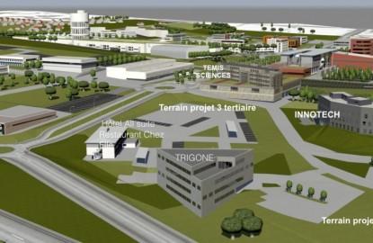 Elan bâtisseur à Besançon sur les technopoles Temis dédiées aux microtechniques et aux industries de la santé