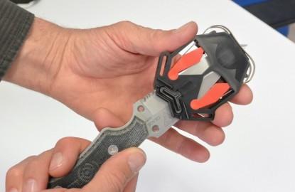 A Belfort, QHEAS lance une gamme de couteaux auto aiguisables pour les activités de plein air
