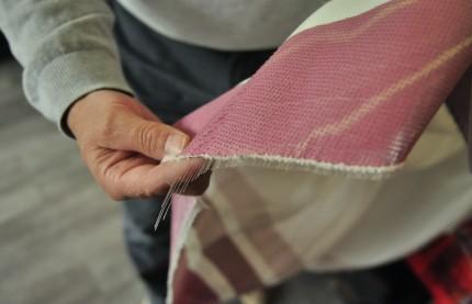 Pilier du label France Terre textile, levosgien Garnier-Thiébaut ajoute de la technologie aux tissus