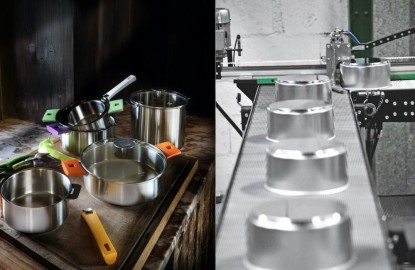Les casseroles Cristel se font une place au chaud sur le marché américain