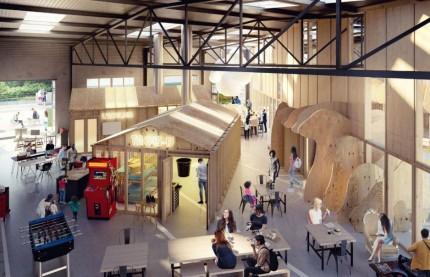 A Metz, le tiers-lieu Bliiida double sa surface d'accueil des industries créatives et start-up du numérique pour près de 12 millions d'euros