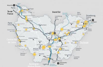Les collectivités locales de Bourgogne-Franche-Comté dévoilent leur offre foncière pour les entreprises