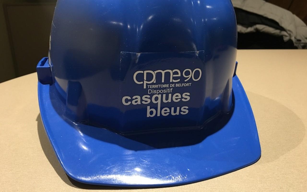 Les casques bleus de la CPME 90