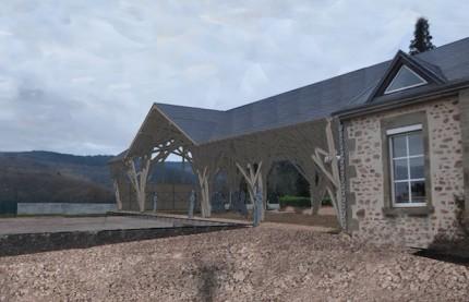 Le Conseil régional de Bourgogne-Franche-Comté et les professionnels du bois dans la logique de l'économie circulaire
