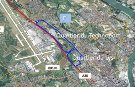 Au Sud de l'Alsace, Euro3lys, tête de pont de l'ambition économique de Saint-Louis entre France, Allemagne et Suisse