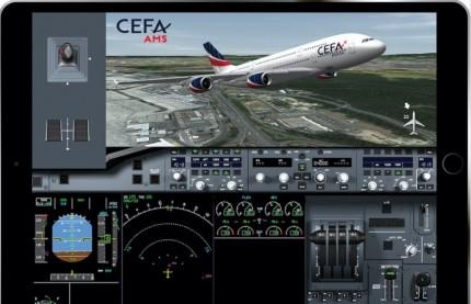 En Alsace, CEFA Aviation lance une application pour la formation des pilotes de ligne
