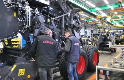En Moselle, le site du groupe allemand Claas parie sur le numérique pour équilibrer sa fabrication