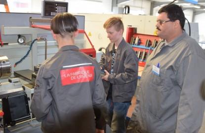 Une école de production à Besançon où l'on usine avec plaisir et l'assurance d'un emploi