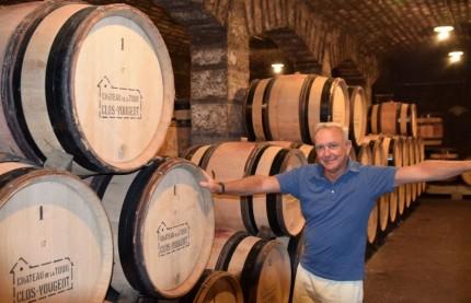 François Labet, le bien né et bien éduqué vigneron du Château de la Tour au sein du domaine du Clos de Vougeot