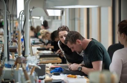 Dans le Pays de Montbéliard, la troisième manufacture du sellier international Hermès monte en puissance