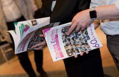 Visionnez le diaporama du lancement de 60, le best of, le magazine de Traces Ecrites News au Club Affaires à l'EuroAirport de Bâle-Mulhouse