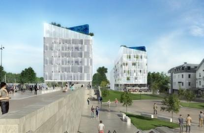 A Besançon, Sedia mobilise tous ses outils d'économie mixte pour construire le pôle tertiaire Viotte