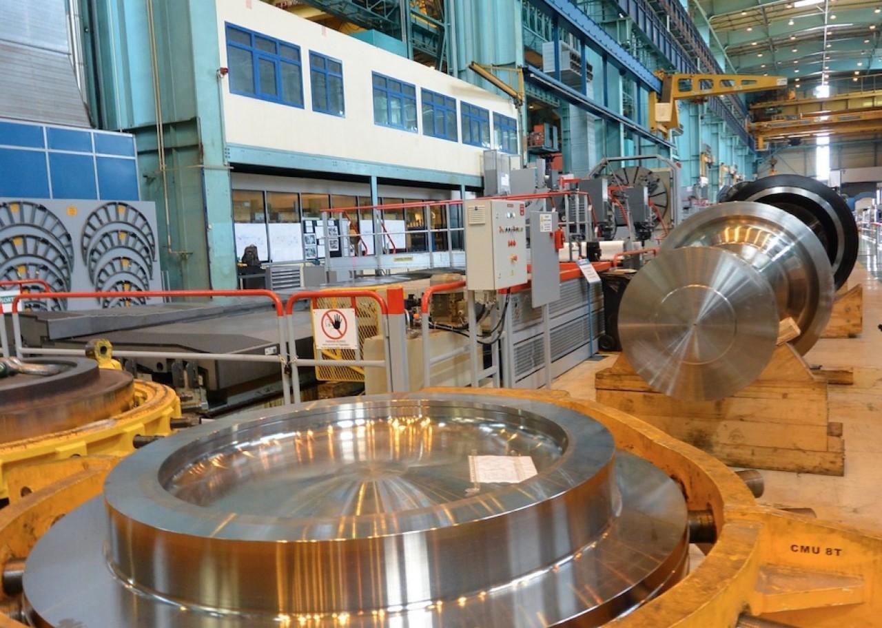 Les ateliers d'Alstom Power à Belfort dont l'intégration dans General Electric comporte beaucoup d'inconnues. © Pierre-Yves Ratti.