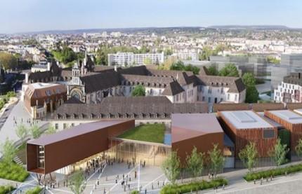 A l'exception des logements sociaux, les constructions de la Cité de la Gastronomie et du Vin de Dijon sont toujours suspendues