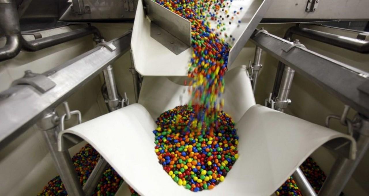 Fabricante des billes chocolatées M&M's avec un effectif d'environ 600 salariés, l'usine Mars de Haguenau (Bas-Rhin) va bénéficier d'un investissement de 70 millions d'€. © Mars Chocolat France.
